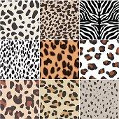 seamless animal skin swatch