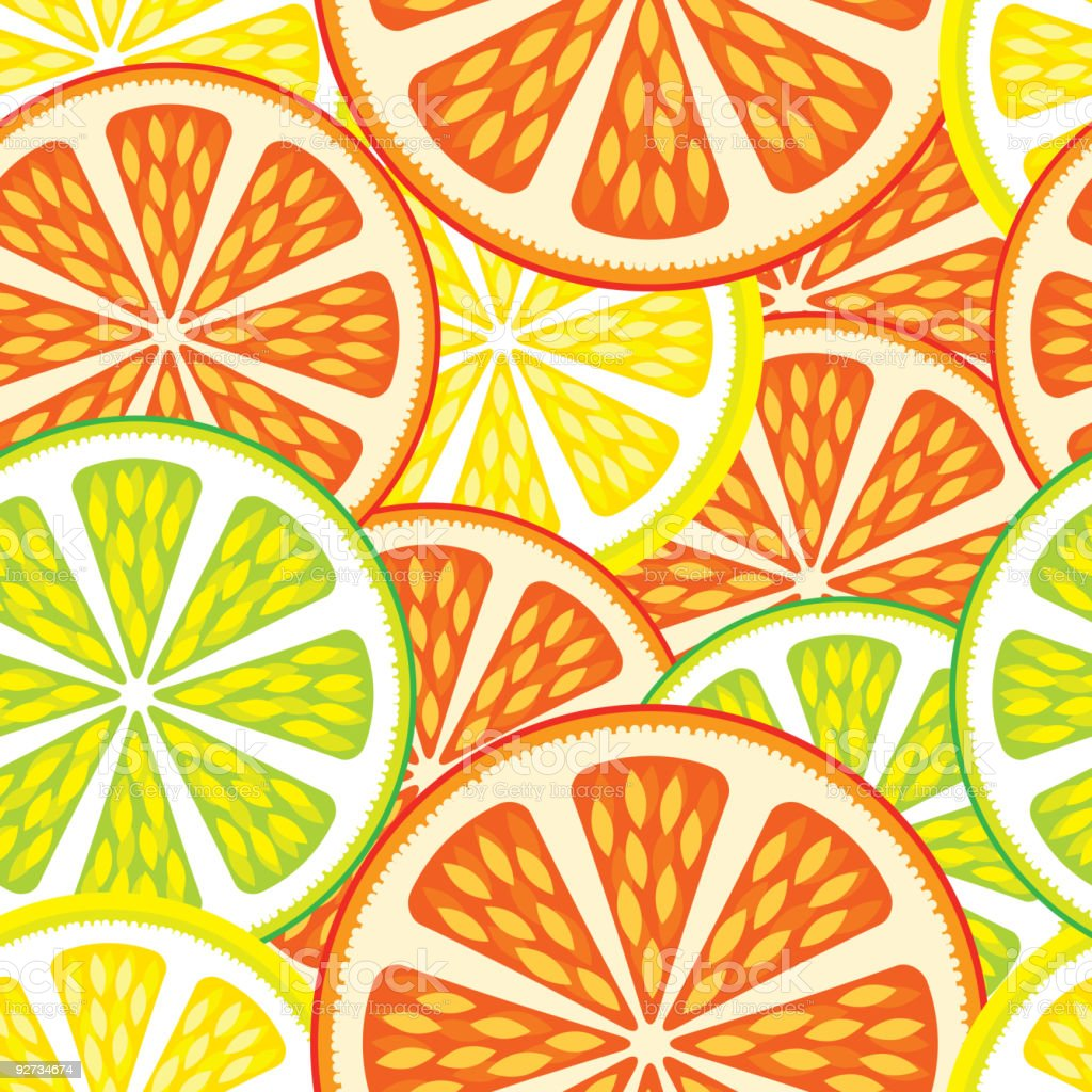 Seamless background - Orange and Lime royalty-free seamless background orange and lime stock vector art & more images of abstract