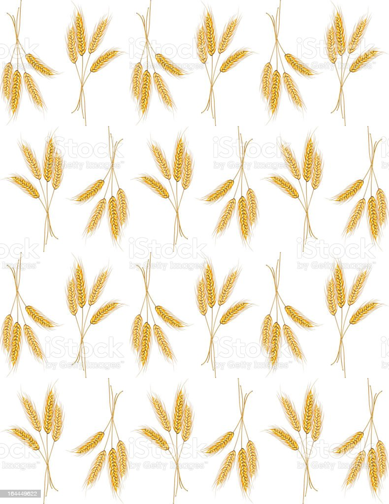 Seamless background with wheat ears royalty-free seamless background with wheat ears stock vector art & more images of agriculture