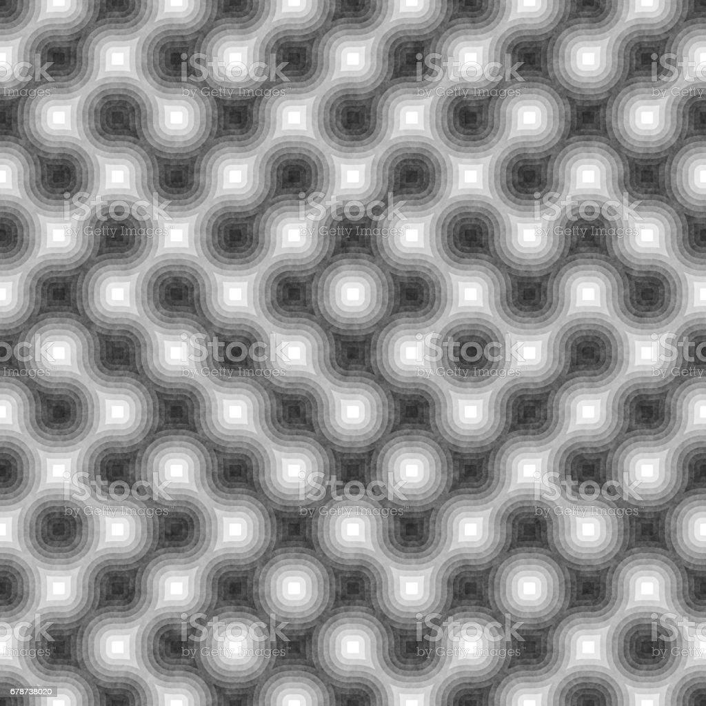 Sorunsuz siyah ve beyaz yuvarlak çizgiler karışık. Geometrik desen dokulu. royalty-free sorunsuz siyah ve beyaz yuvarlak çizgiler karışık geometrik desen dokulu stok vektör sanatı & arka planlar'nin daha fazla görseli