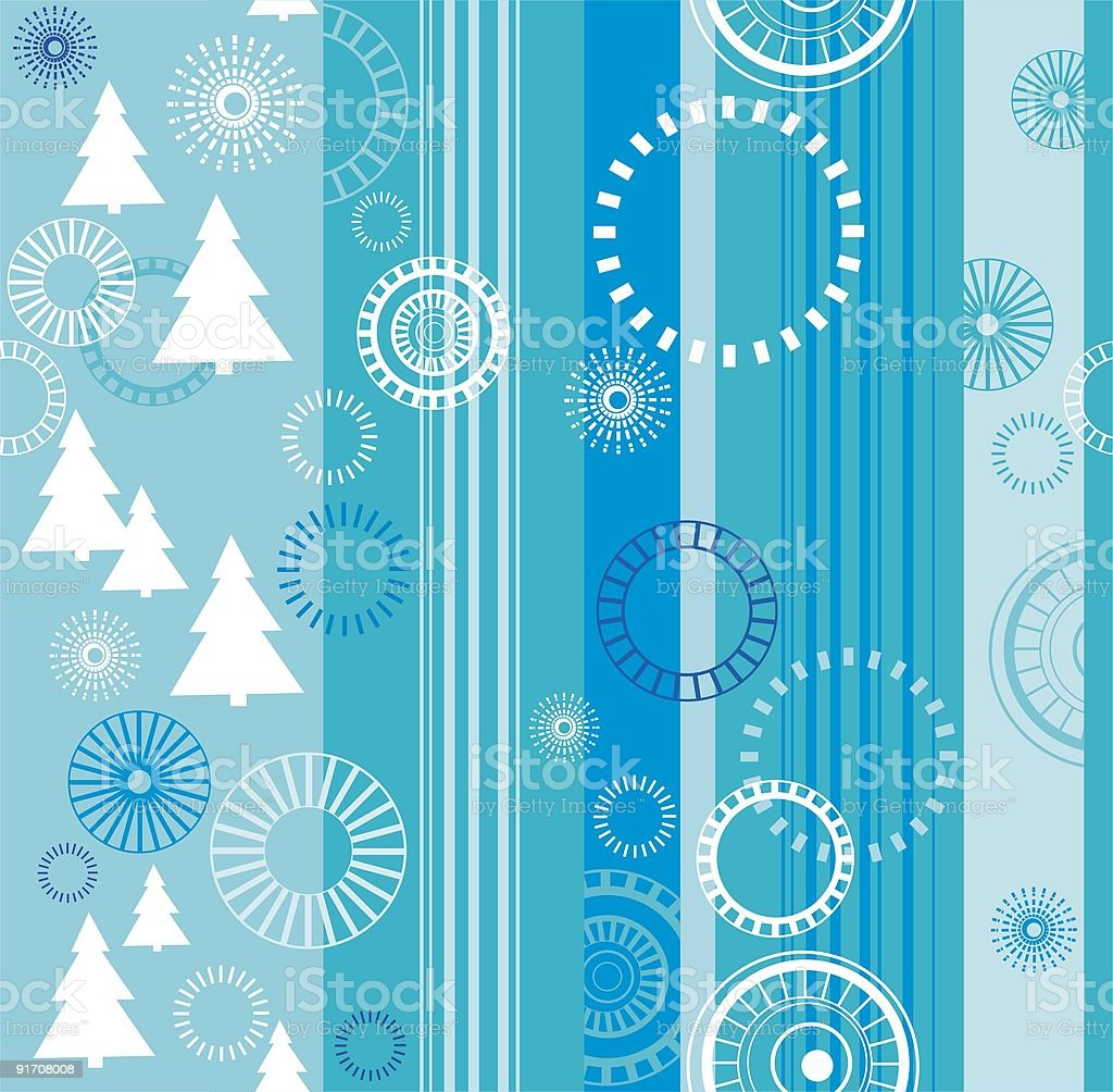 Seamless blue background royalty-free stock vector art