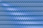 istock Seamless blue zig zag striped texture background 1139834794