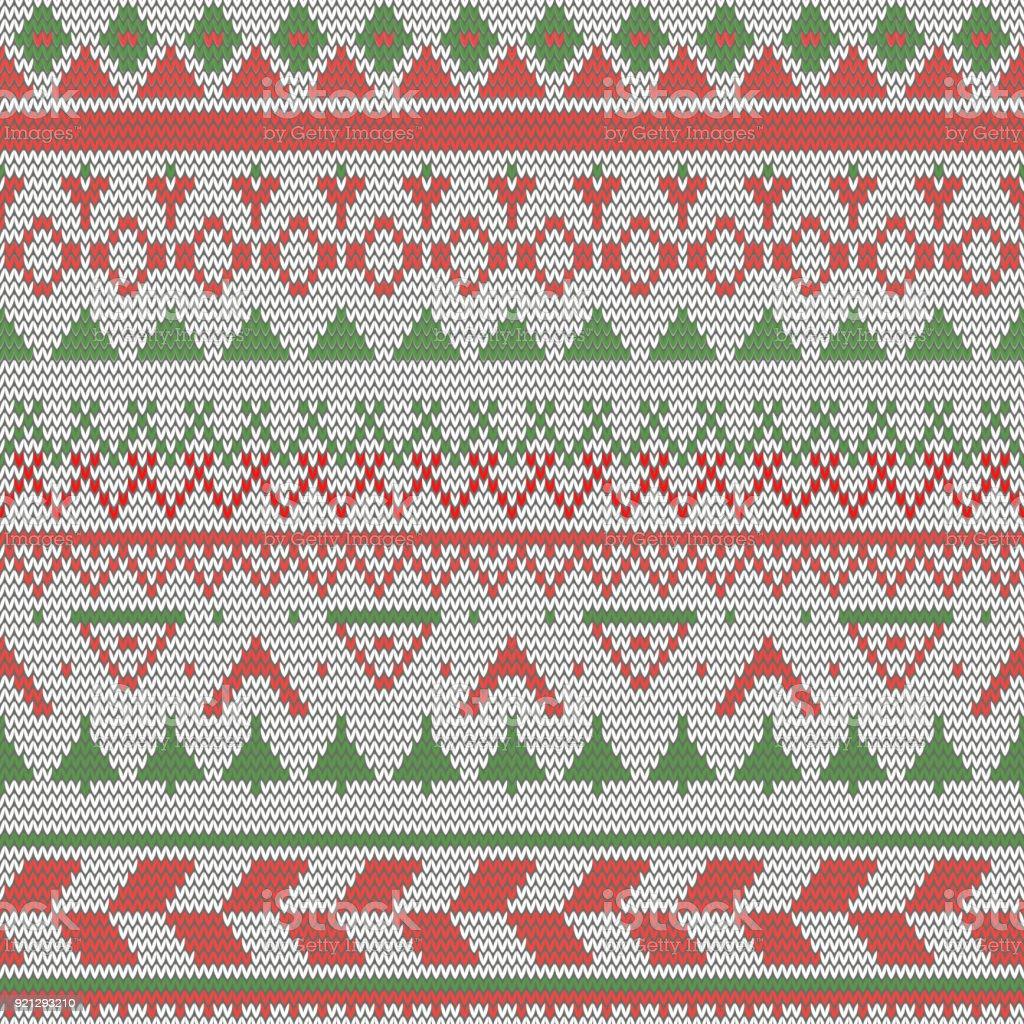 Asombroso Patrón De Navidad Libre De Costura De La Media Colección ...