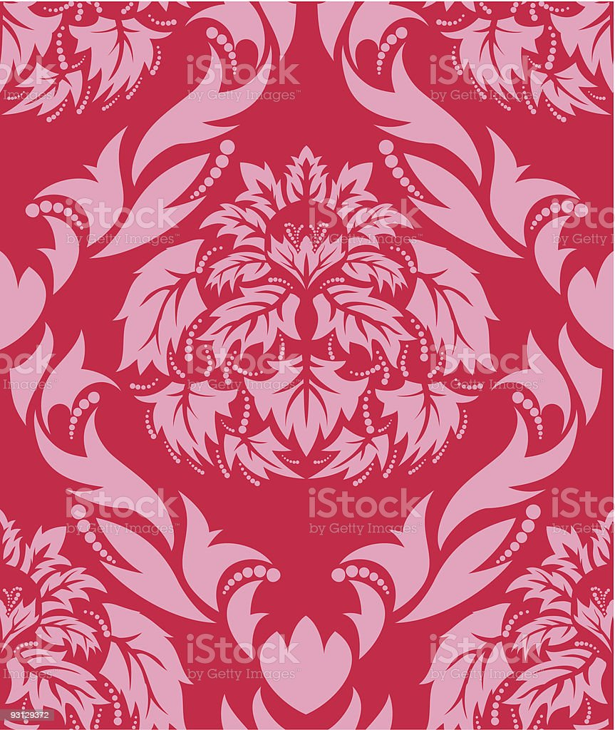 seamless damask background royalty-free seamless damask background stock vector art & more images of abstract