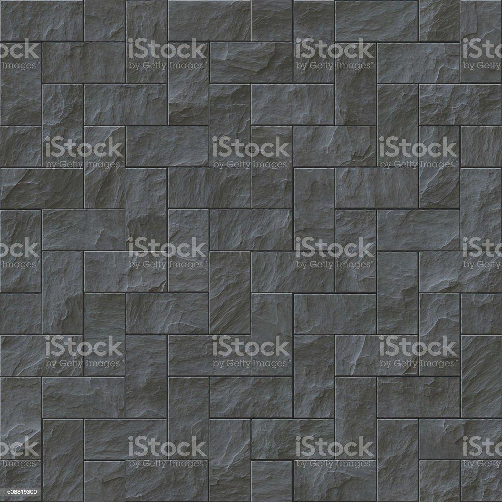 . Seamless Dark Stone Brick Texture Illustration Stock Illustration    Download Image Now