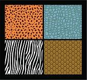 """Cheetah, crocodile, zebra, reptile."""