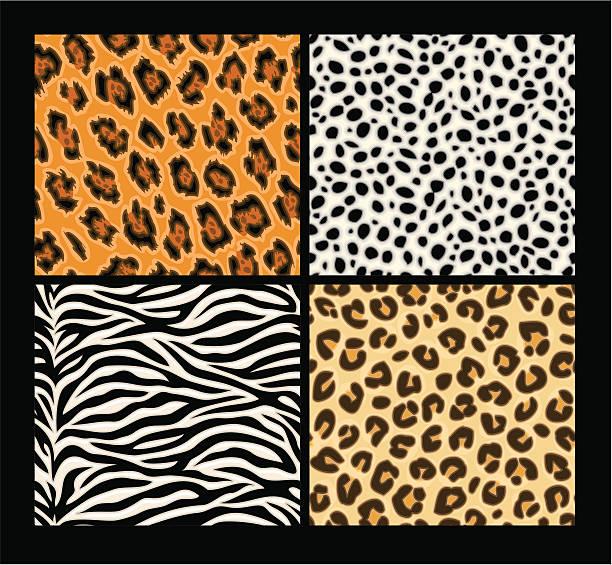 シームレスなエキゾティックな動物の肌のパターン - ヒョウのテクスチャ点のイラスト素材/クリップアート素材/マンガ素材/アイコン素材