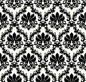 Seamless floral background. Repeat many times.