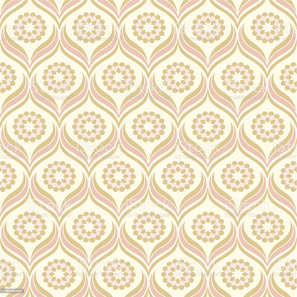 Seamless floral pattern. Flowers texture. royalty-free stock vector art