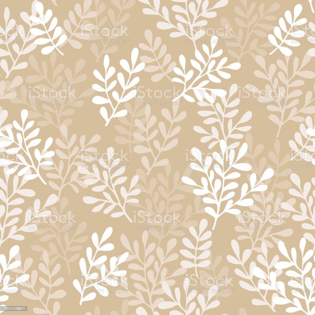 手描きの小さな枝とシームレスな花柄壁紙生地織物包装紙のためのかわいいシンプルなデザイン イラストレーションのベクターアート素材や画像を多数ご用意 Istock