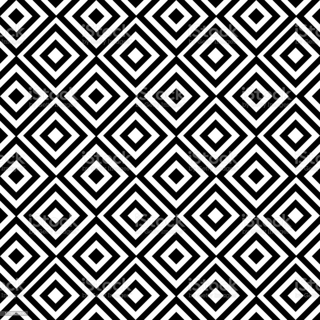 Photo Noir Et Blanc Design seamless geometric pattern black and white design for