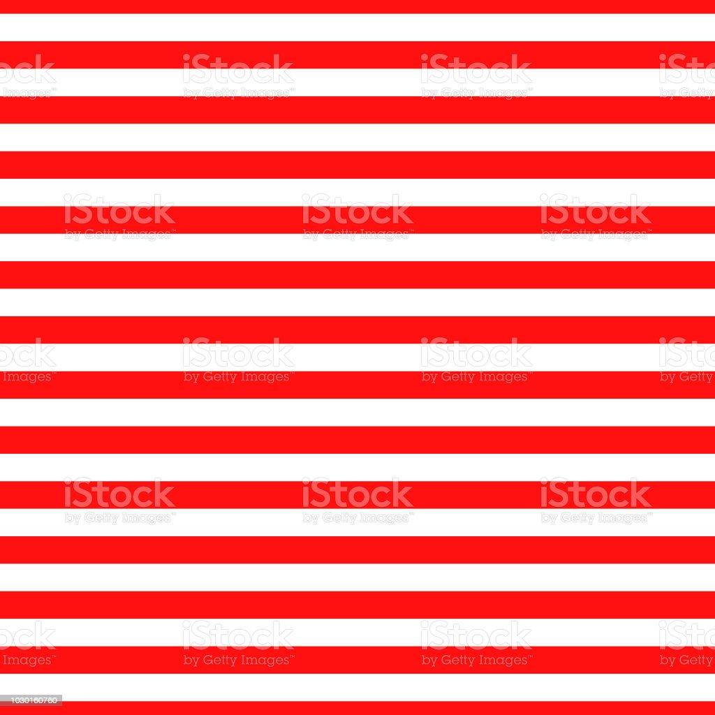 Bande Horizontale Transparente Motif Rouge Et Blanc Conception Pour