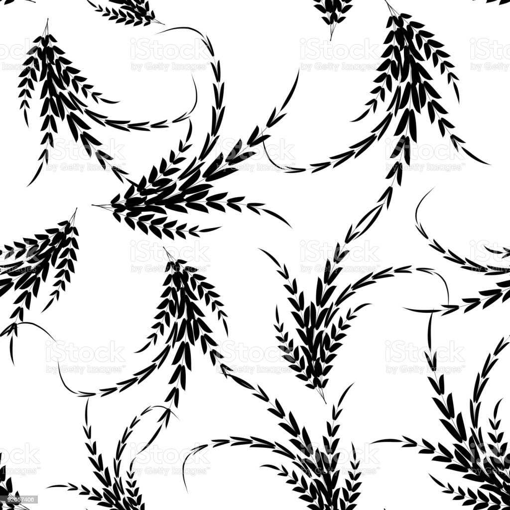 Seamless leaf wallpaper royalty-free seamless leaf wallpaper stock vector art & more images of abstract