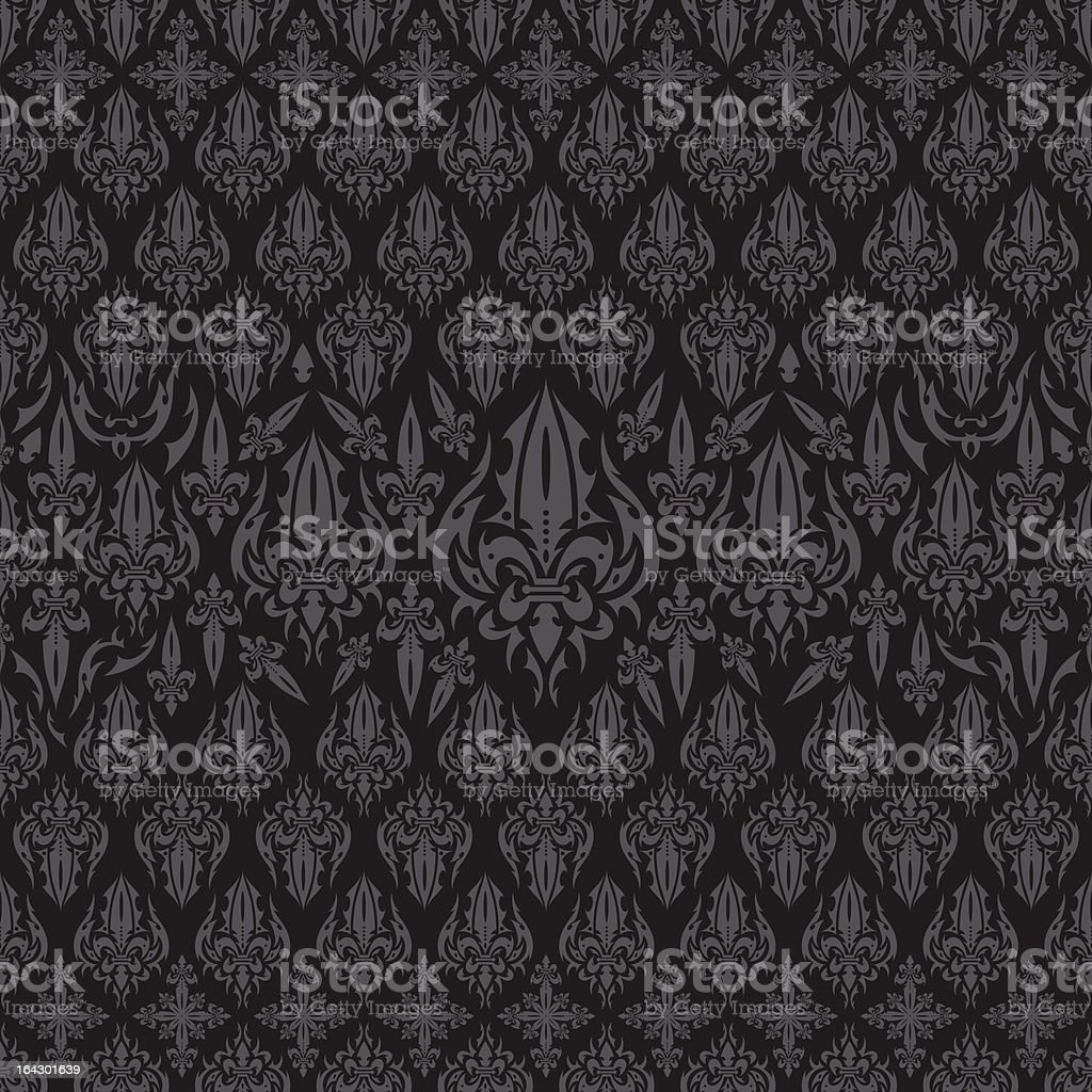 Seamless Lys Background royalty-free stock vector art