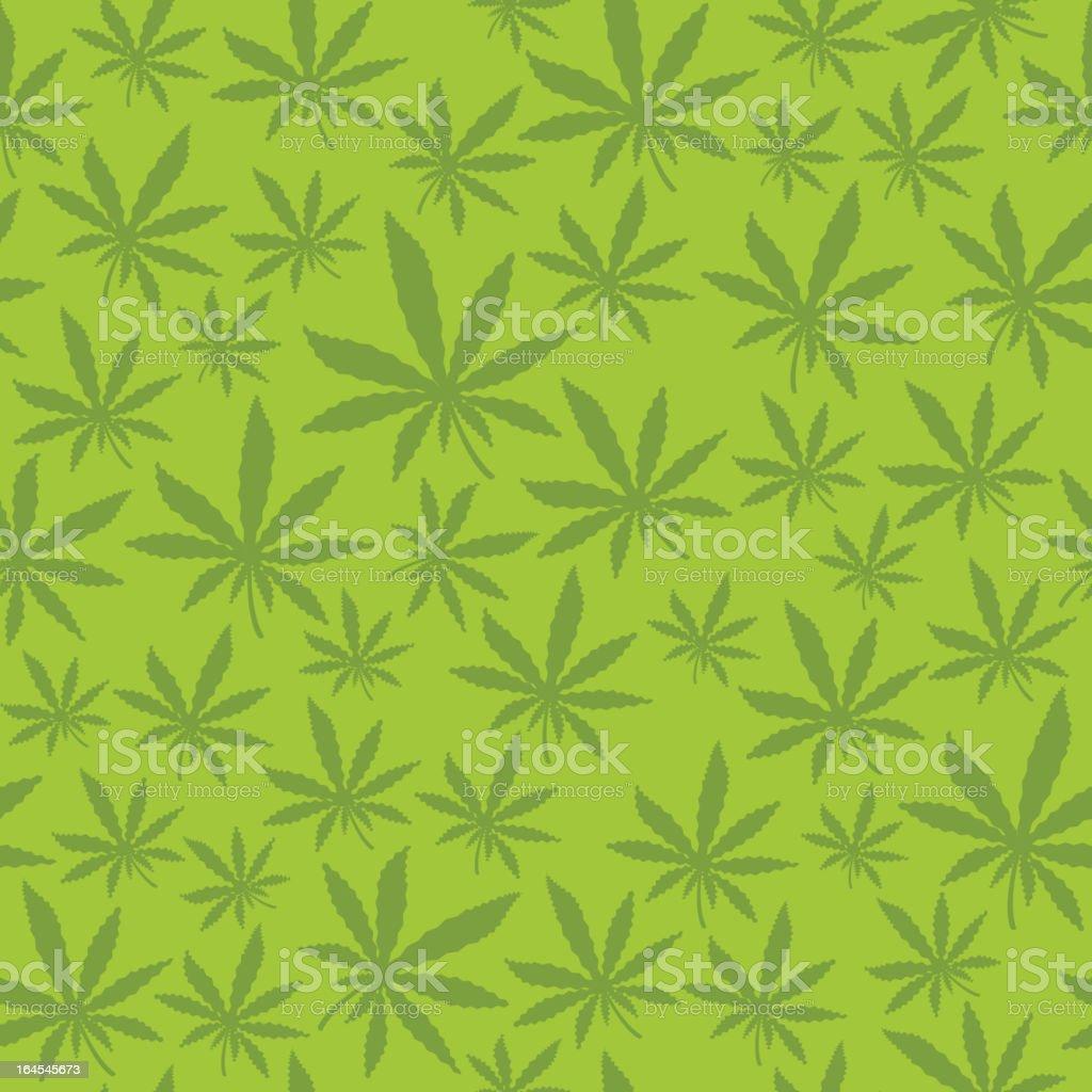 Seamless Marijuana Leaf royalty-free seamless marijuana leaf stock vector art & more images of backgrounds