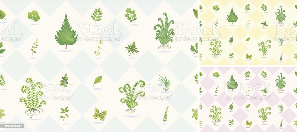 seamless nature pattern. royalty-free stock vector art