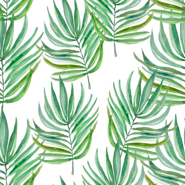 seamless pattern - palm sunday stock illustrations, clip art, cartoons, & icons