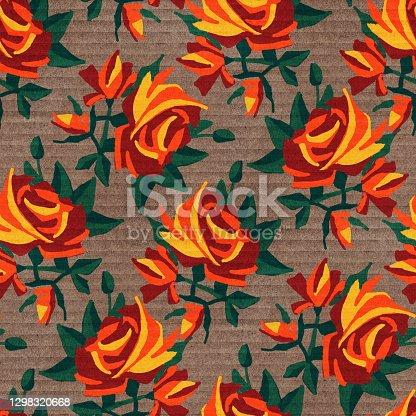 istock Seamless pattern 1298320668