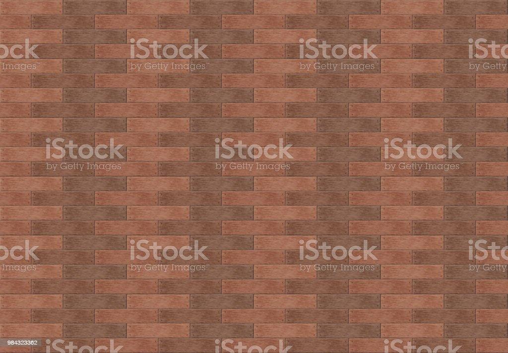 Seamless pattern like a wooden floor vector art illustration