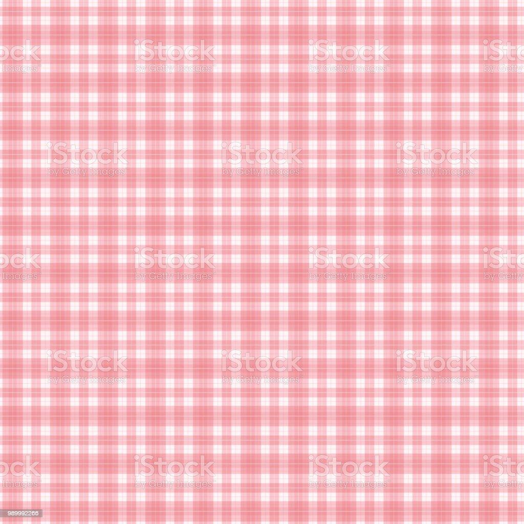 Seamless pattern of check vector art illustration