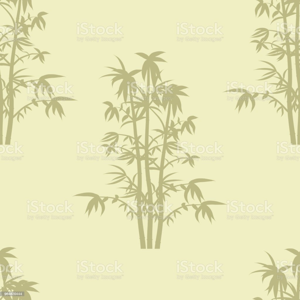 Seamless repeat background pattern of bammboo plants in silhouette. royalty-free seamless repeat background pattern of bammboo plants in silhouette stock vector art & more images of abstract