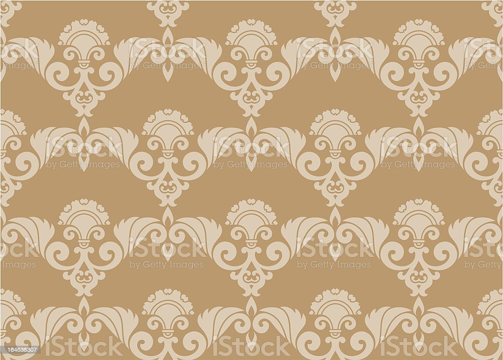 Seamless Retro Wallpaper royalty-free seamless retro wallpaper stock vector art & more images of abstract