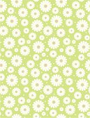 """""""Seamless simple lime, white and pink daisy polka repeat pattern"""""""