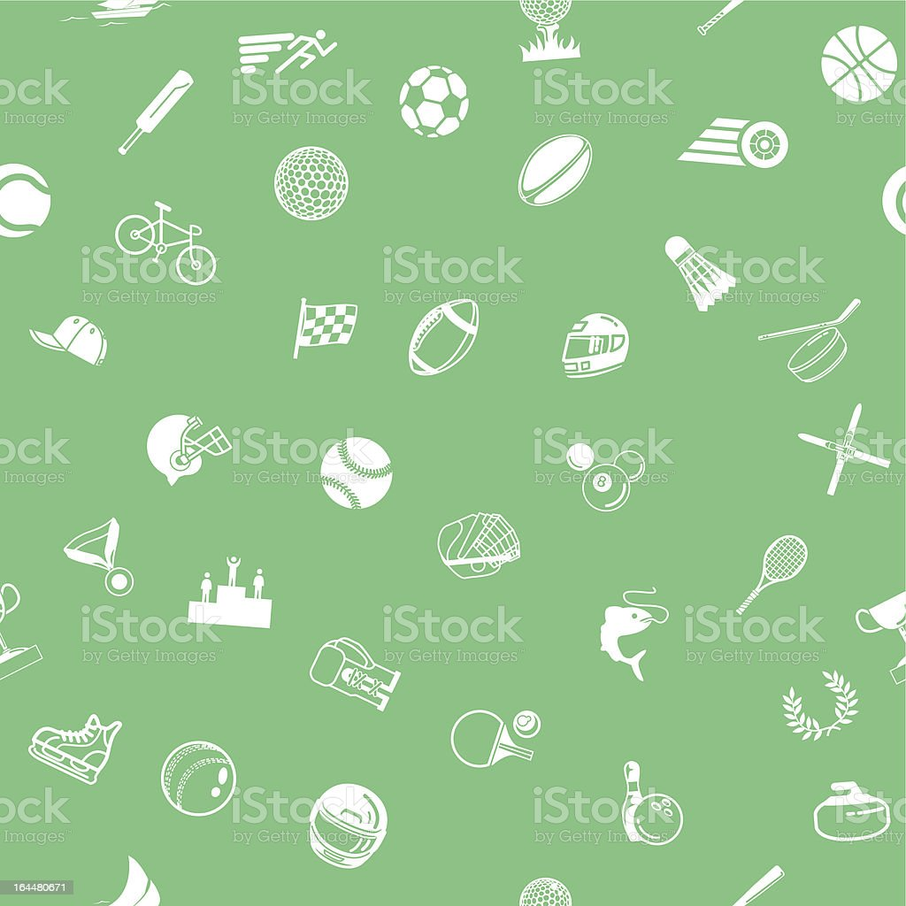 Seamless sport background texture royalty-free stock vector art