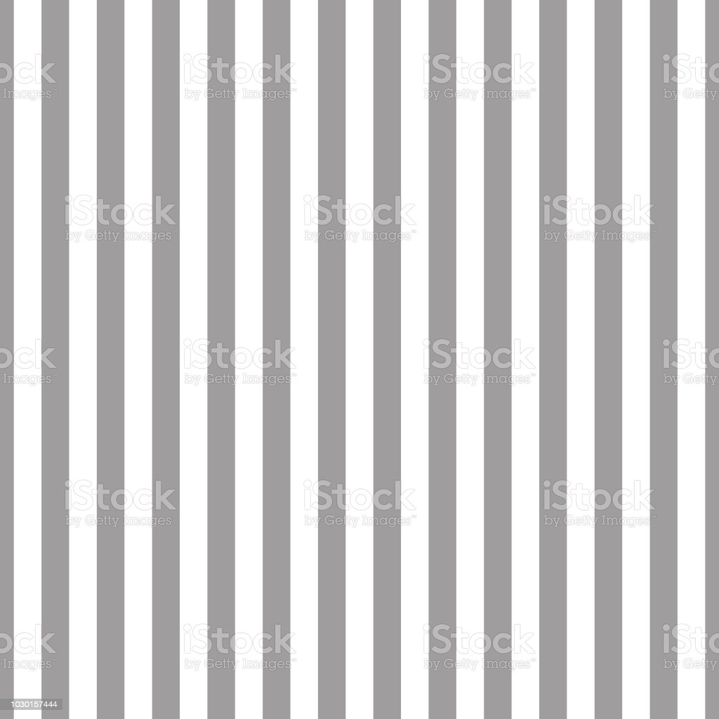 シームレスなストライプ パターン グレーと白壁紙ファブリック繊維