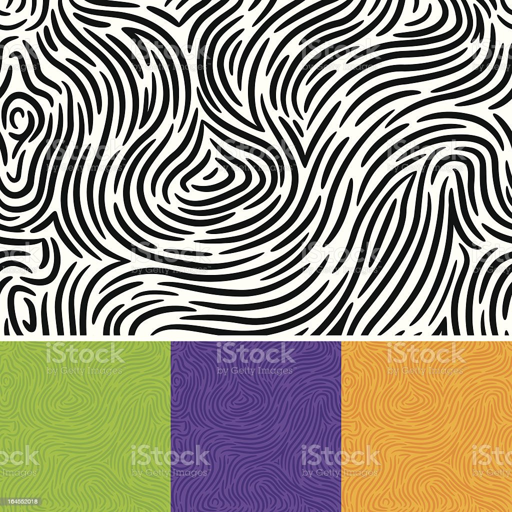 Seamless Swirls vector art illustration
