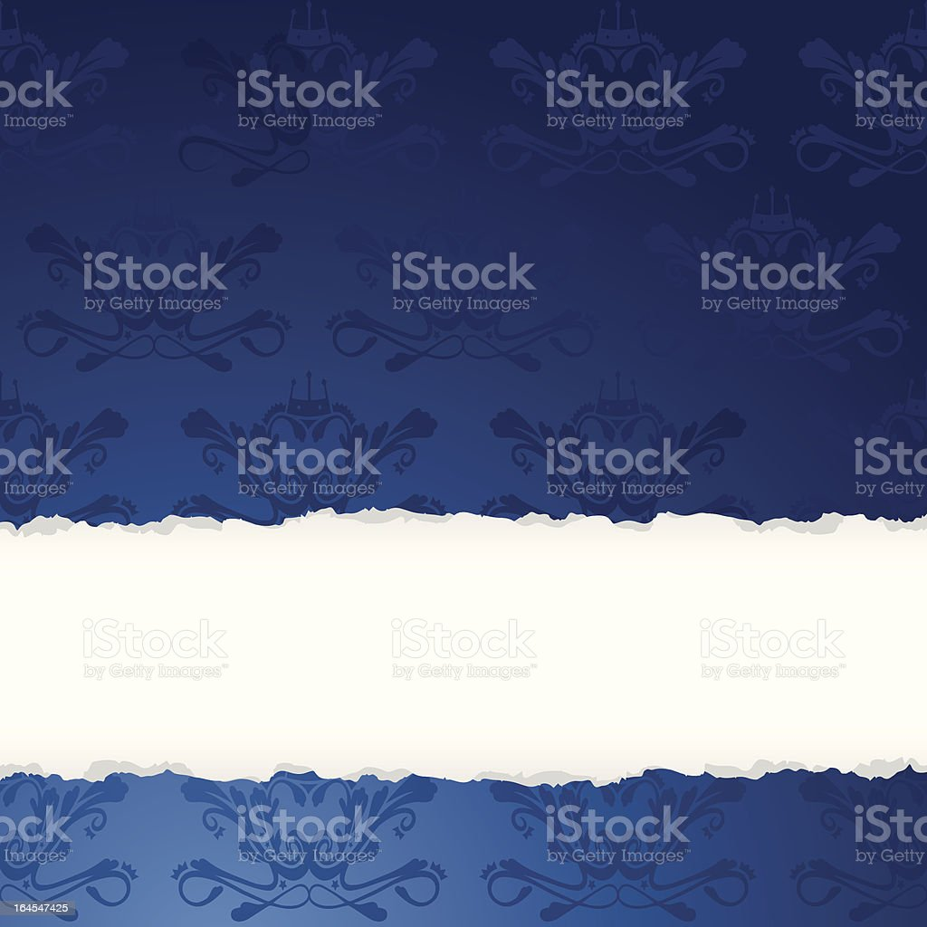 Seamless Torn Background royalty-free stock vector art