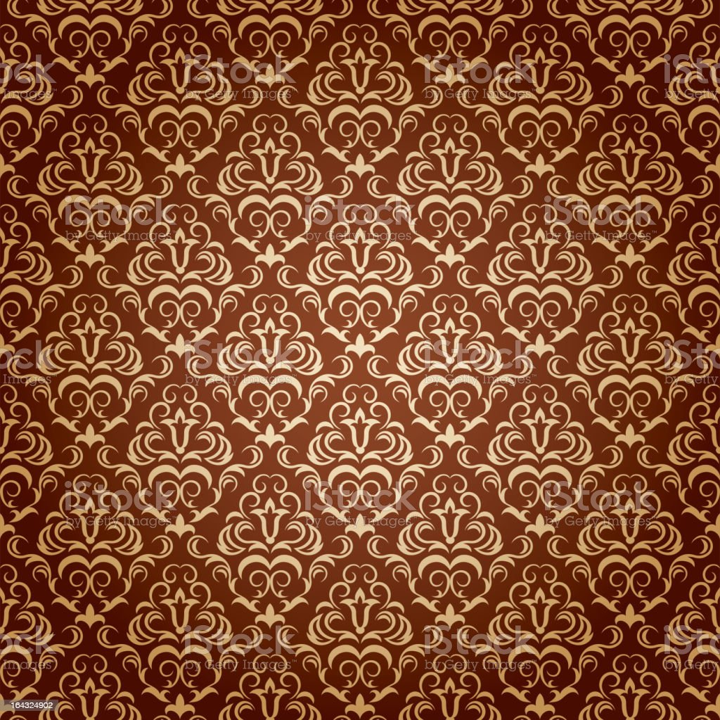 Seamless Wallpaper Stock Illustration   Download Image Now   iStock