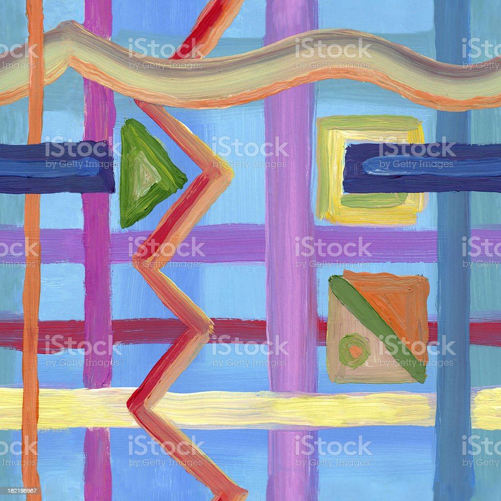 seamless wallpaper, modern art royalty-free seamless wallpaper modern art stock vector art & more images of abstract