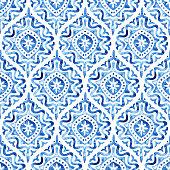 istock Seamless watercolor pattern. 1271881417