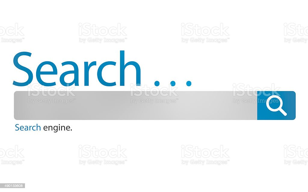 Search Browse Find Internet Search Engine Concept vector art illustration