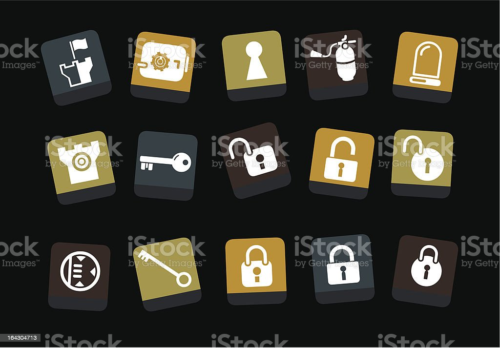 Security Icon Set royalty-free security icon set stock vector art & more images of closed