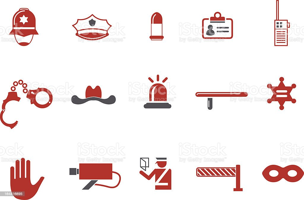 Security Icon Set royalty-free stock vector art