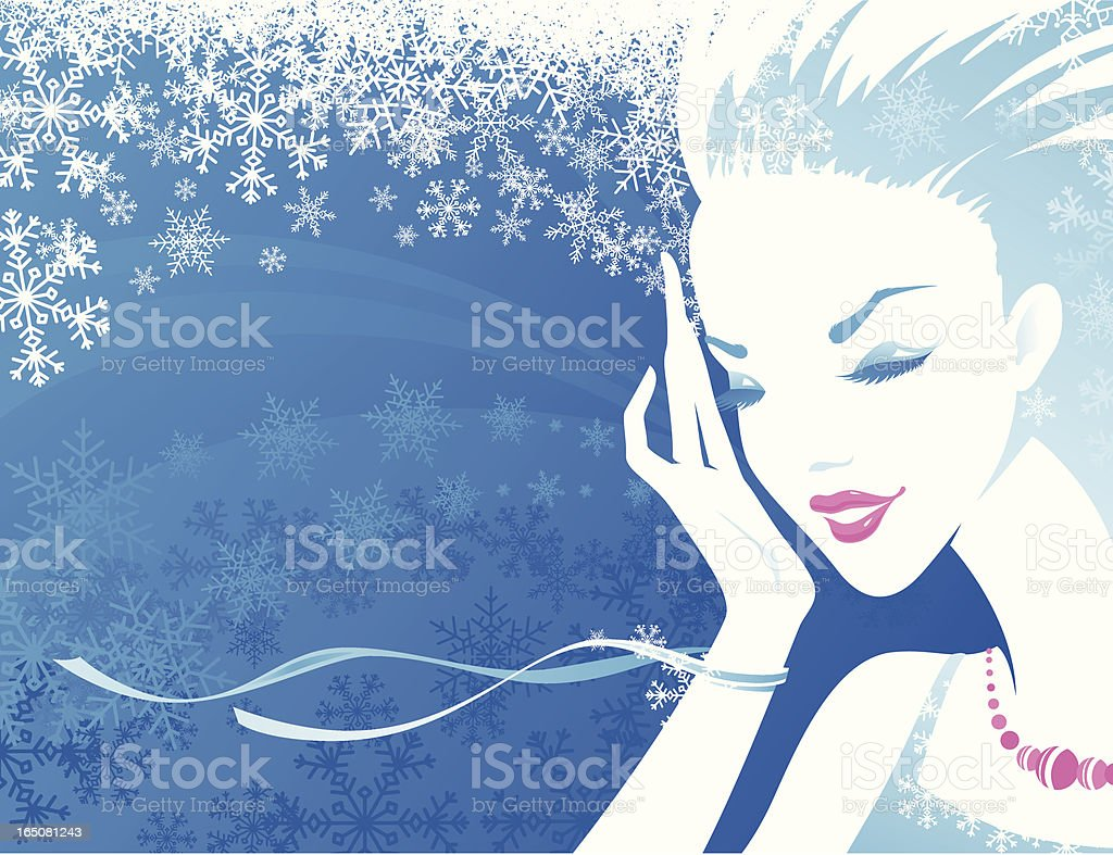 Sensuality - Blue royalty-free sensuality blue stock vector art & more images of abstract