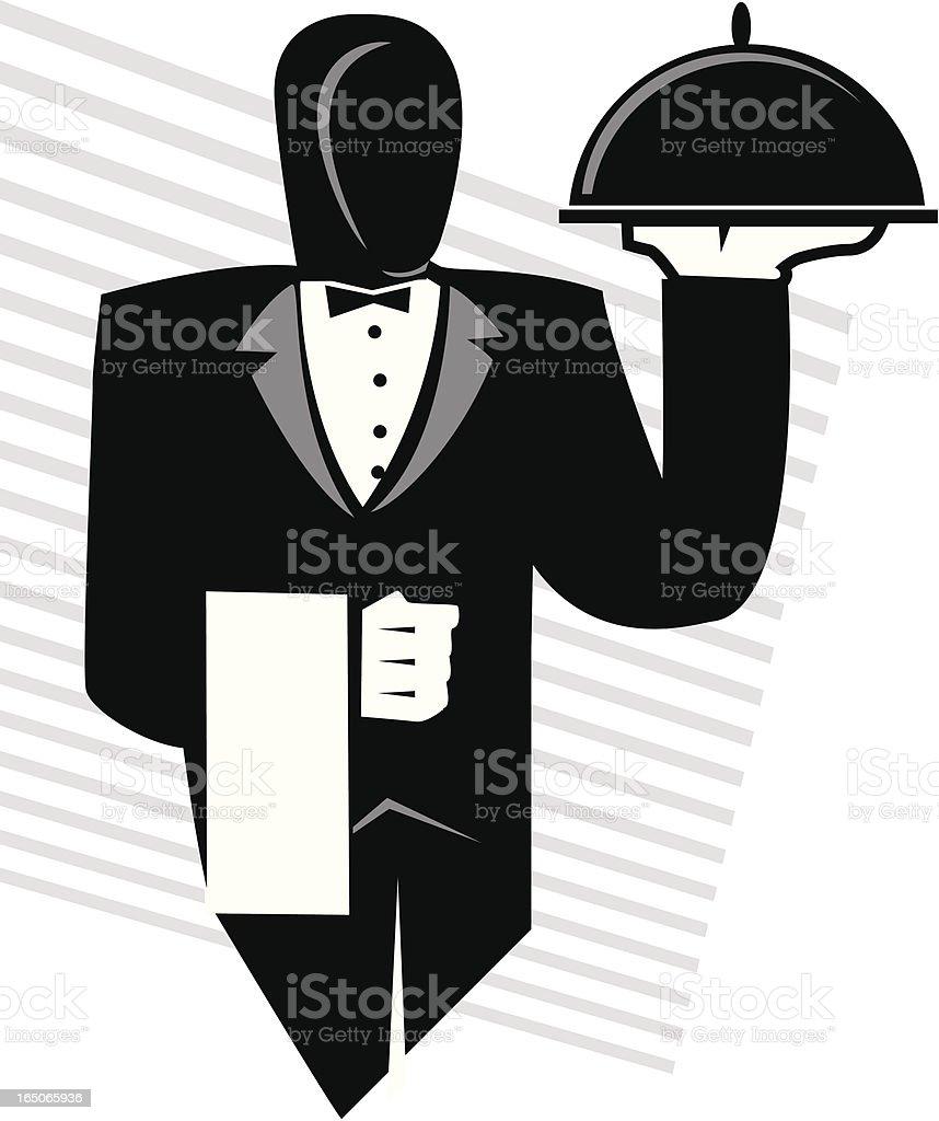 server royalty-free server stock vector art & more images of butler