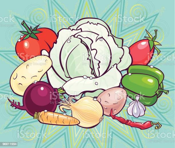 Set For A Beets Soup-vektorgrafik och fler bilder på Arrangera