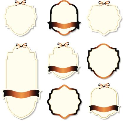 Set Of Design Elements Stock Illustration - Download Image Now