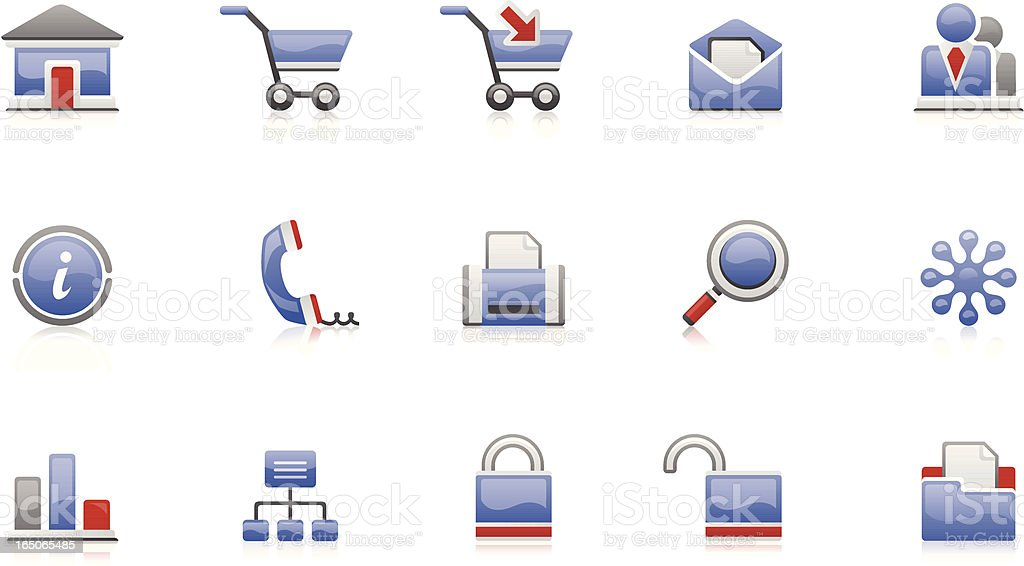 Set of Icons for website royalty-free set of icons for website stock vector art & more images of advice