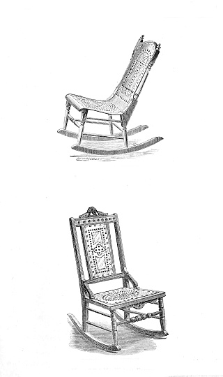 Set of old chair