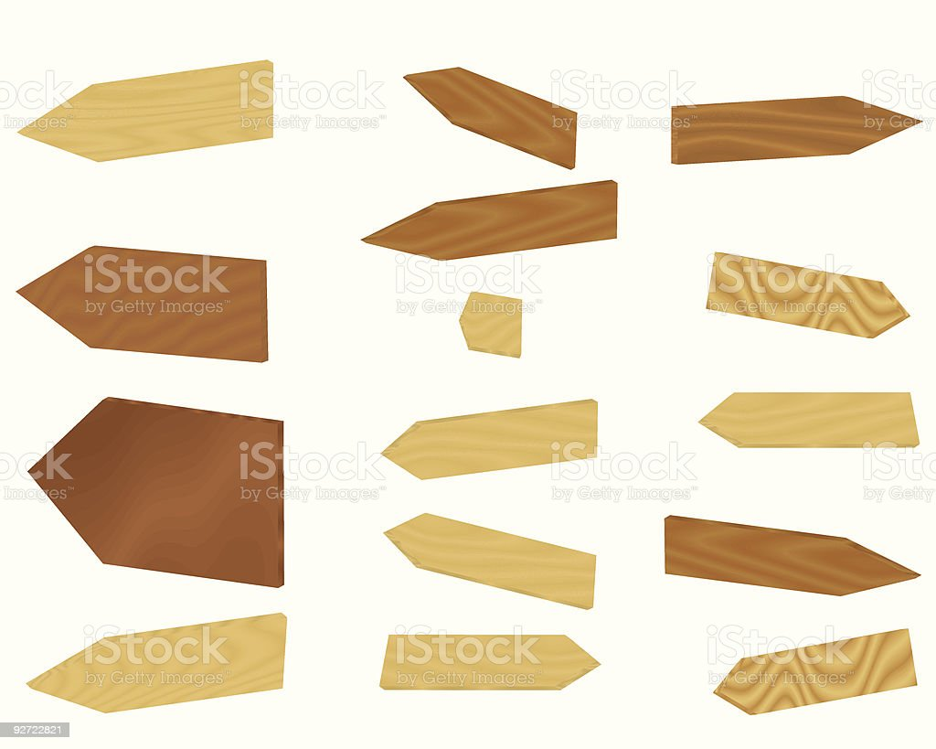 set of signs royalty-free stock vector art