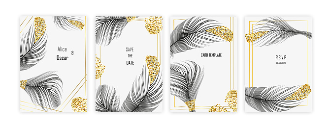 Set retro business card. Vector background. Card or invitation. .