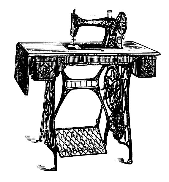 Sewing Machine Illustrations, Royalty-Free Vector Graphics