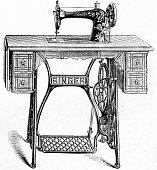 Sewing machine from Singer - Model: vibrating shuttle