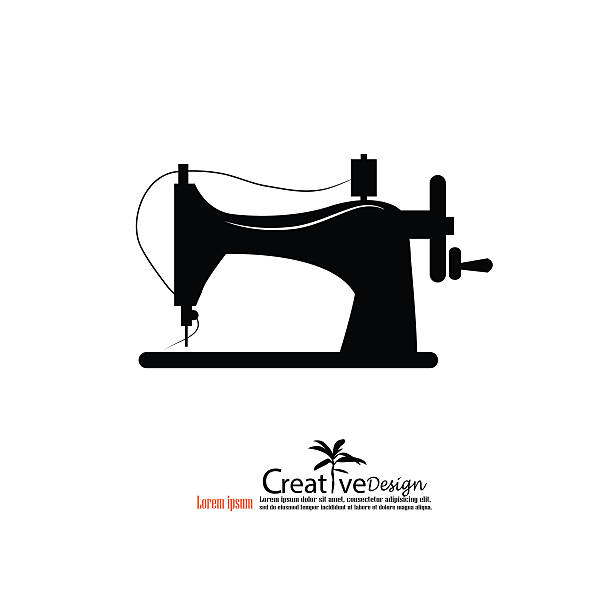 Royalty Free Sewing Machine Clip Art Vector Images