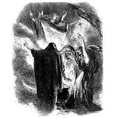 istock Shakespeare - Three Witches from Macbeth 168625711