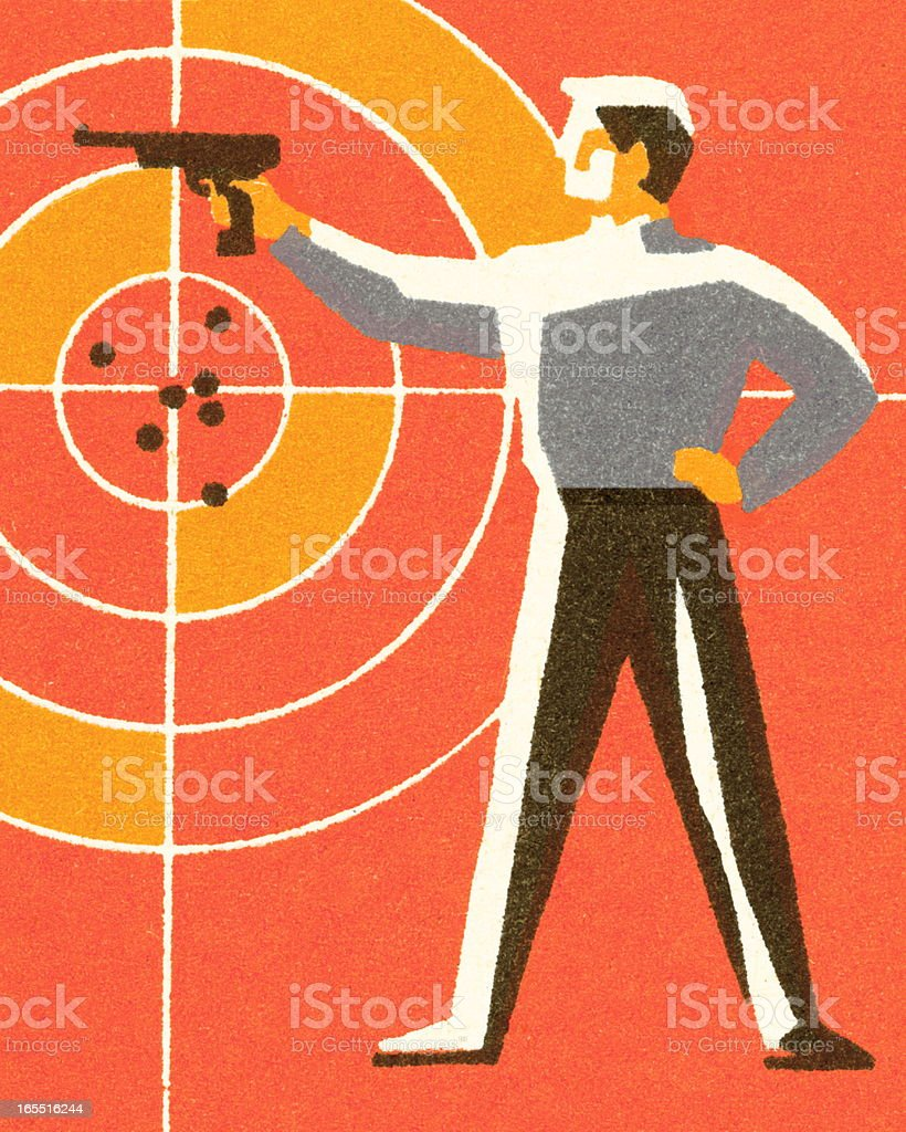 Sharp Shooter royalty-free sharp shooter stock vector art & more images of adult